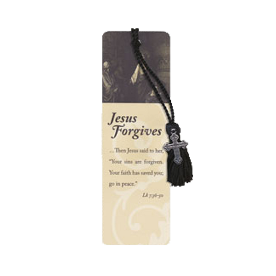 Oil of Gladness Anointing Oil<br> Jesus Forgives Bookmark
