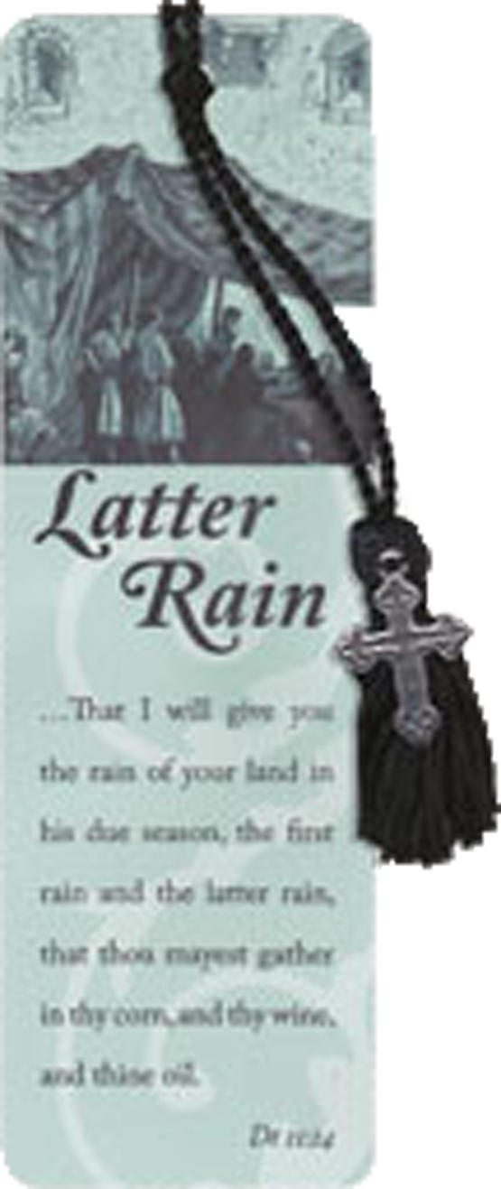 Oil of Gladness Anointing Oil<br> Latter Rain Bookmark