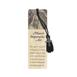 Oil of Gladness Anointing Oil<br> Mary's Impetuous Act Bookmark
