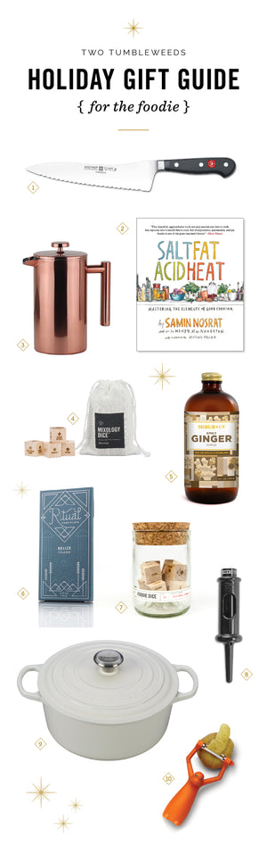 2017 Holiday Gift Guide for Foodies