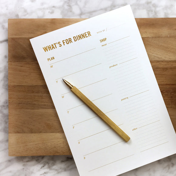 Meal Planning Notepad for fridge