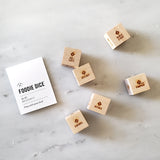 Dessert Dice - Foodie Gift for her, kitchen gift, gift for baker, or stocking stuffer
