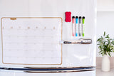 Magnetic Dry Erase Monthly Calendar for Fridge