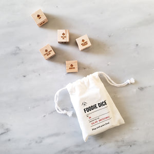 Salad Dressing Dice - Foodie Gift for her, kitchen gift, cooking gift, or stocking stuffer