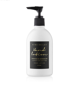 Blanc Hand Lotion - Orange & Geranium
