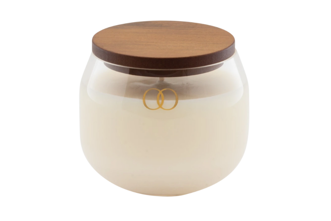 Oracle Soy Candle - Smoked Glass