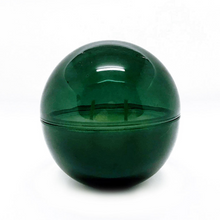 Load image into Gallery viewer, Emerald Glass Orb + OM Candle