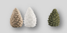 Load image into Gallery viewer, Small Pine Cone Candle