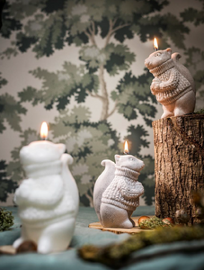 Squirrel Candle