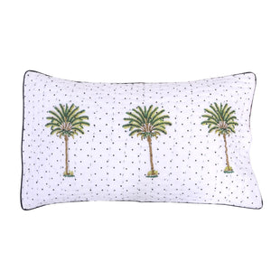 Polka Dot Palm Trees  Pillowcase