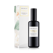 Load image into Gallery viewer, Nina Bailey Citrus + Magnolia Luxe Body Oil