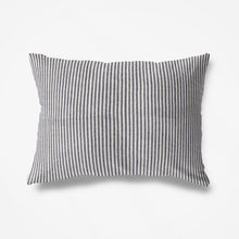 Load image into Gallery viewer, St Barth Striped Pillowslip -Soft Charcoal