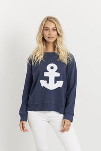 Frayed Anchor Windy - Old Navy