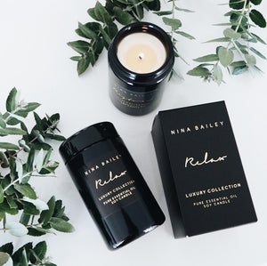 Nina Bailey Essential Oil Soy Candle
