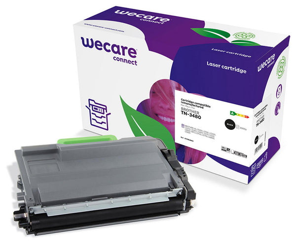 WECARE TONER FOR BROTHER TN-3480 BK 8K