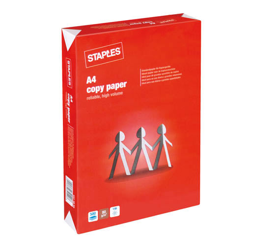 STAPLES COPY A4 80G / 500 [5RSI/Erä]