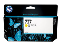 HP B3P21A INK CARTR. #727 YELLOW 130ML
