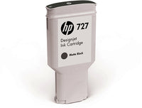 HP C1Q12A VÄRIP. MATTE BLACK #727 300ML
