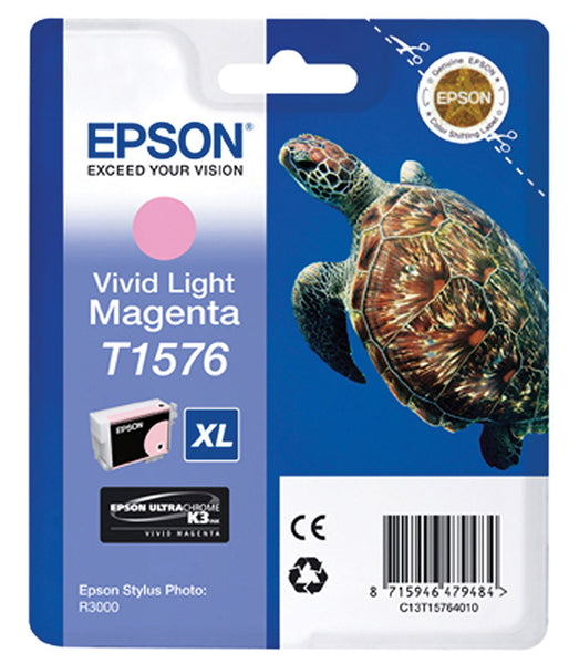 EPSON T157 SP-R3000 VIVID LIGHT MAGENTA
