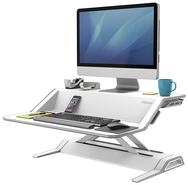 FELLOWES LOTUS SIT/STAND TYÖASEMA VALK.