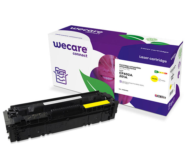 WECARE TONER FOR HP CF402A YELLOW 1,4K