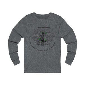 Create to be Great- Uni Long Sleeve Tee