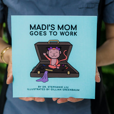 Madi's Mom Goes To Work