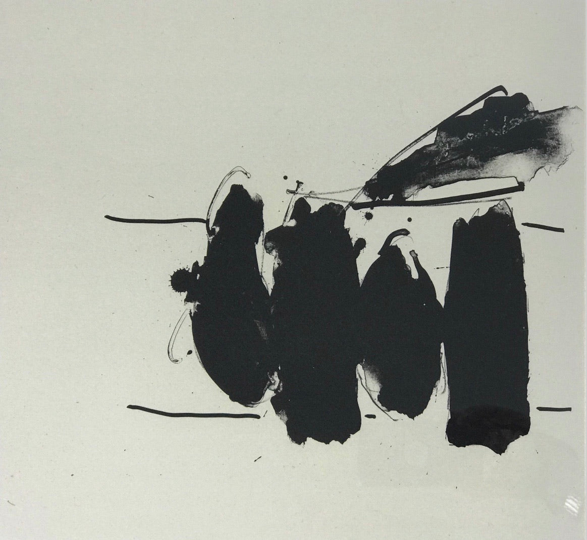 Three Poems - Untitled/Spanish Elegy by Robert Motherwell