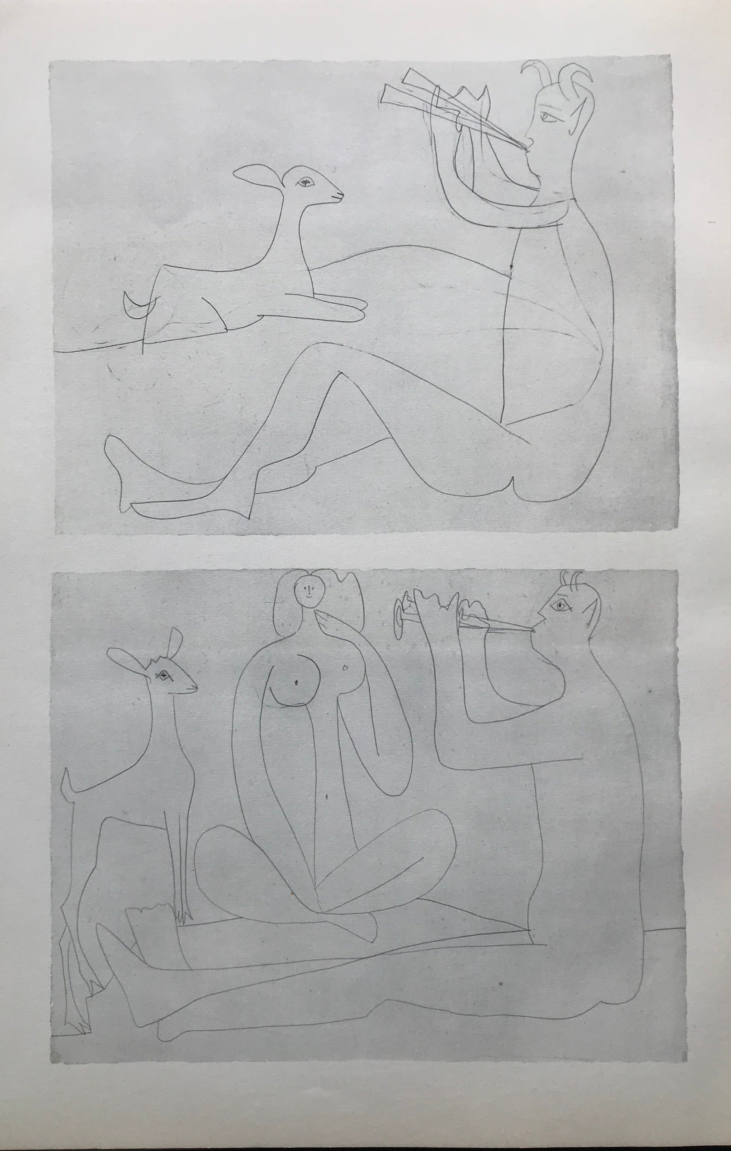 Mythical Images by Pablo Picasso