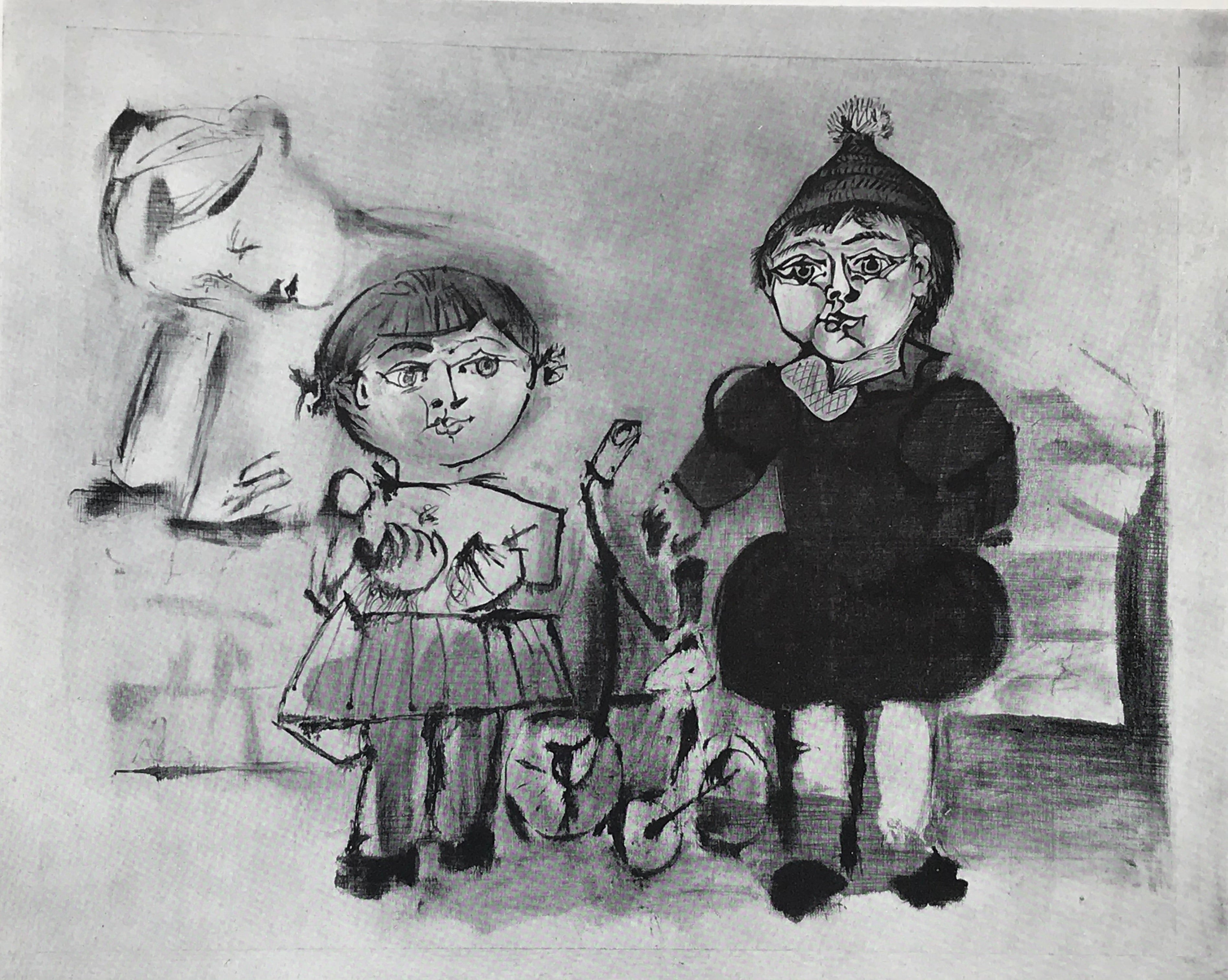 Paloma and Claude by Pablo Picasso