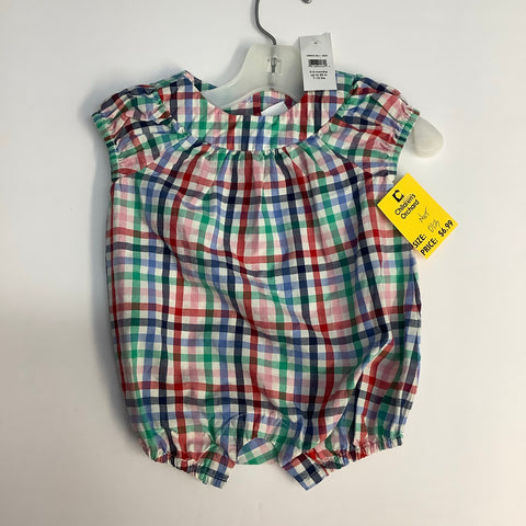Romper by Gap, 0-3MO NWT