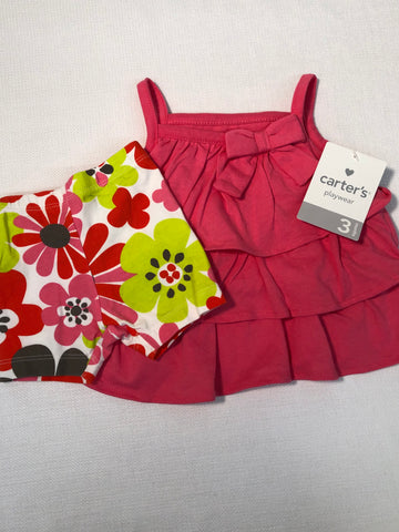 Carters, 2 piece, 3MO NWT