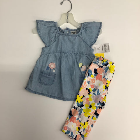 Outfit by Carter's, 9MO NWT