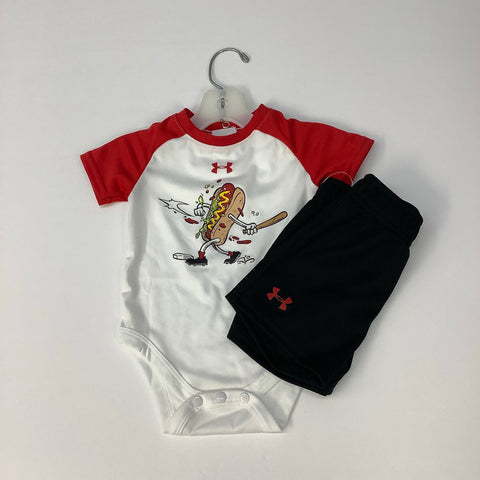 Outfit by Under Armour, 3/6M, NWT