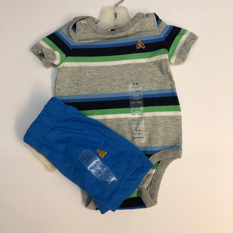 Outfit by Gap, 3/6M, NWT