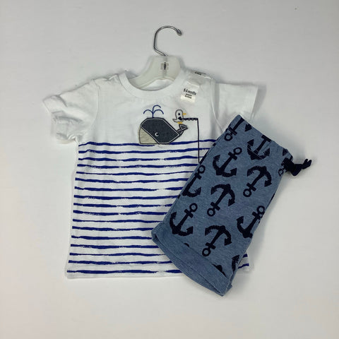 Outfit by First Impressions, 6/9M, NWT