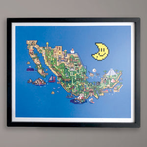 Republica Mario Bros Print