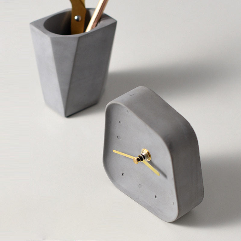 Dali-Inspired Melting Table Clock