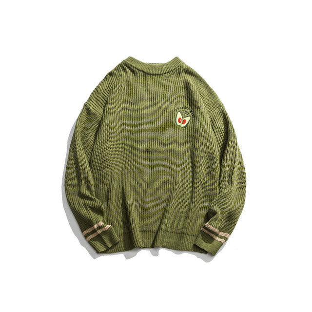 Avocado Knitted Pullover