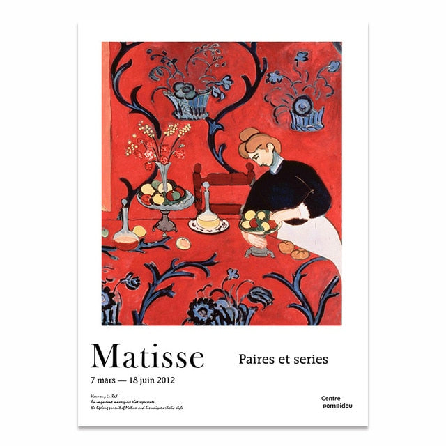 Henri Matisse Abstract Scenery Modular Wall Prints