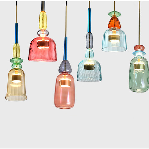 Nordic Color Candy Hanging Pendant Lights