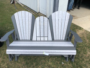 Double Seat Outdoor Chair w/ cupholders