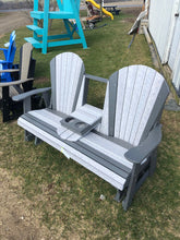 Load image into Gallery viewer, Double Seat Outdoor Chair w/ cupholders