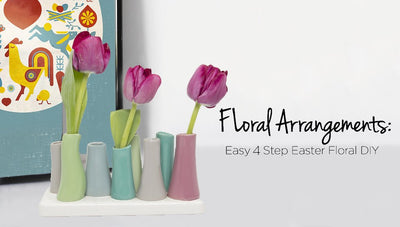 Floral Arrangements - Easy 4 Step Easter Floral DIY