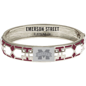 Mississippi State Bulldogs Mosaic Bangle