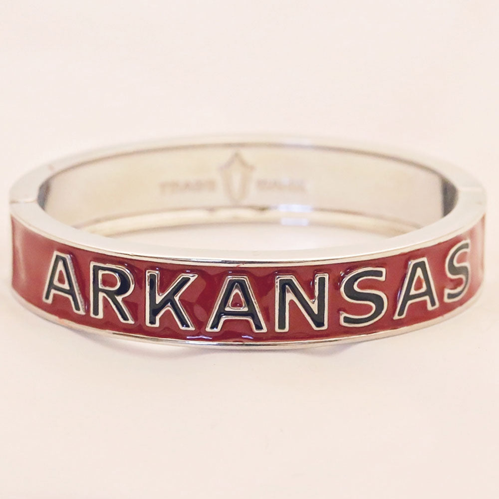 Arkansas Razorbacks School Bangle