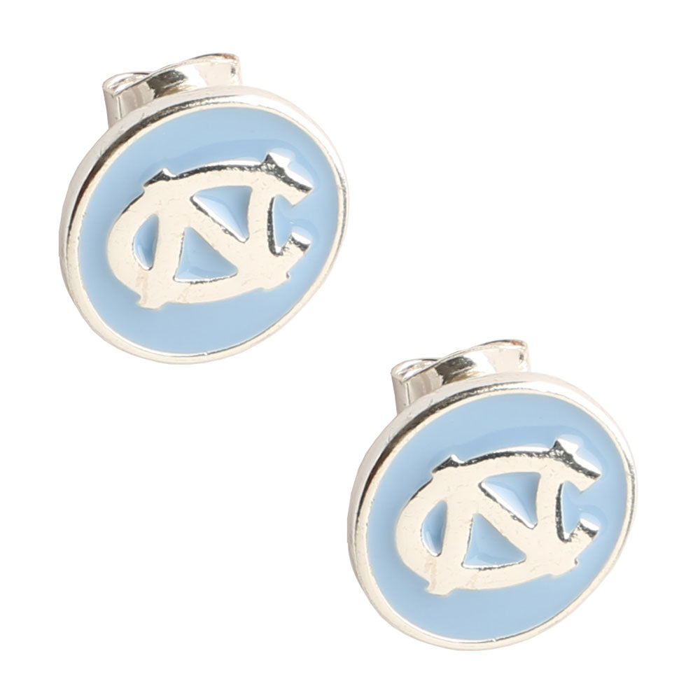 NORTH CAROLINA TARHEELS CASEY STUD EARRINGS
