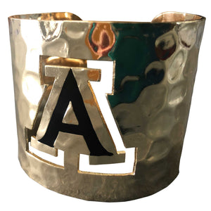 ARIZONA WILDCATS HAMMERED CUFF