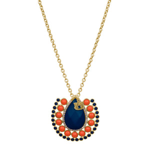 Auburn Tigers Medallion Necklace