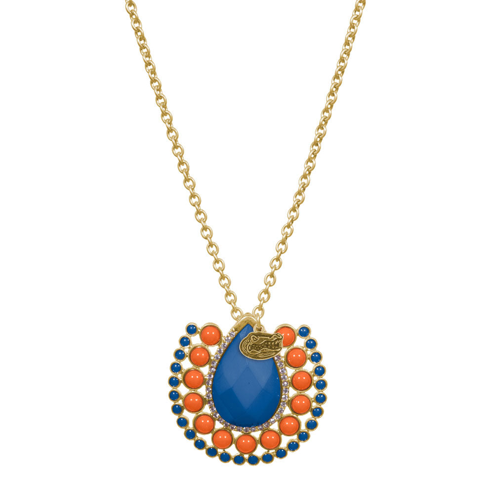 Florida Gators Medallion Necklace